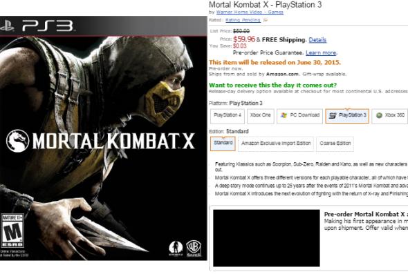 скачать игру Mortal Kombat X на Ps3 - фото 9