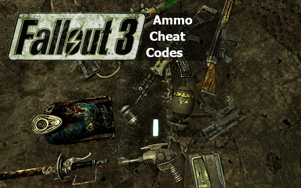 cheat codes fallout 3 ammo